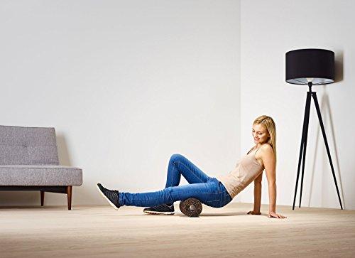 blackroll orange (Das Original) - Selbstmassagerolle - Faszien-Rolle - inklusiv Übungs-DVD und Übungsbooklet, Länge 30cm x Durchmesser 15cm