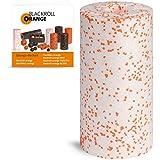 Blackroll Orange MED Faszienrolle - Faszien Massagerolle 30 cm (weiß) für Faszientraining mit Anleitung