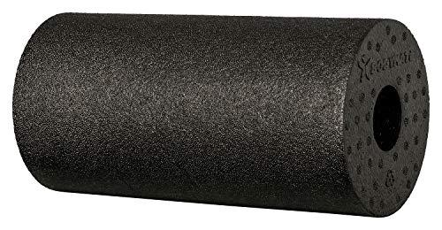 BODYMATE Faszienrolle Standard Mittel-Hart mit GRATIS E-Book - Schwarz 30x15cm